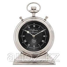 Большие настольные часы Ален  Clock Alain Nickel Large, фото 3