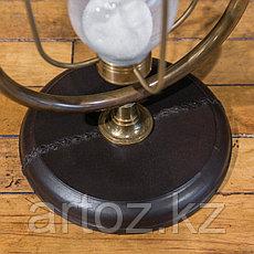 Песочные часы на 15 минут из кожи и меди Sandtimer 15 Min Copper And Leather, фото 3