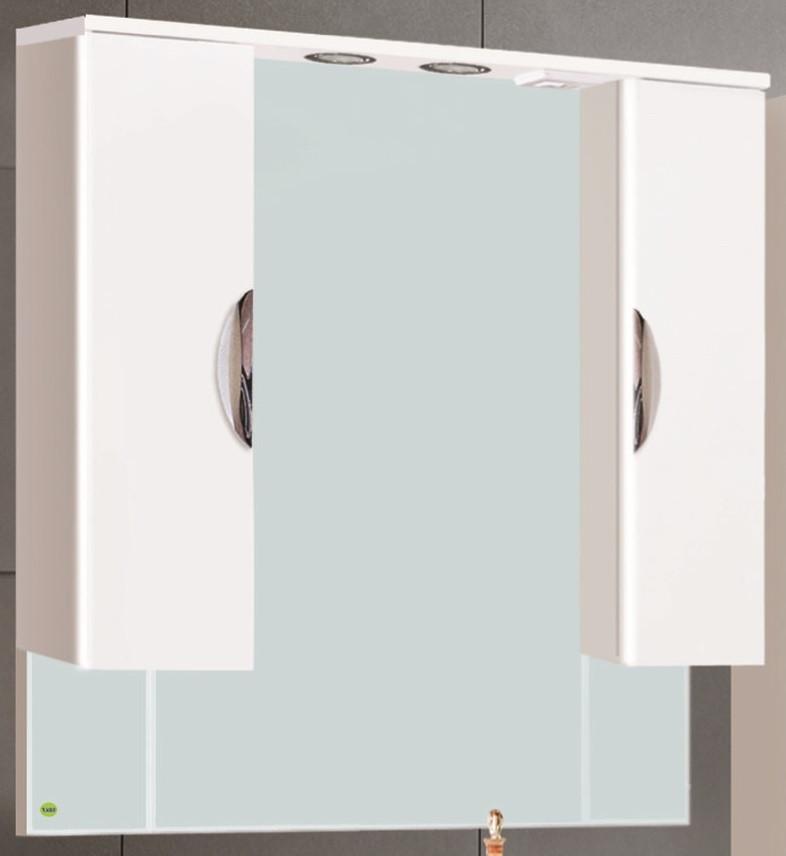 Шкаф зеркальный VAKO Ника 1000 со светом и без - фото 2