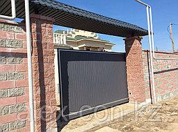 Сдвижные консольные ворота 4000x2200 Complete, фото 3