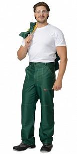 Костюм рабочий летний «Стандарт» (куртка, брюки зелёный с жёлтым)