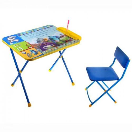 Набор мебели НИКА  DISNEY 2 Университет Монстров (стол+пенал,стул  с легкомоющ.тканью)