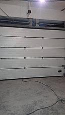 Автоматические секционные ворота, фото 2