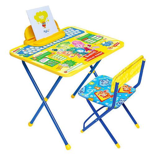 НИКА Набор мебели ФИКСИКИ АЗБУКА Ф1А (стол складн.+пенал,стул )