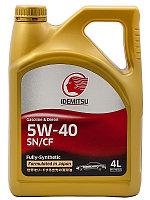 Моторное масло IDEMITSU 5W40 SN/GF 4 литра
