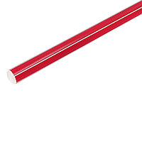 Палка гимнастическая 70см, цвет: красный, фото 1