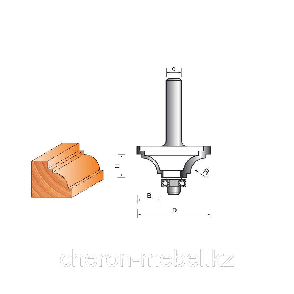 Фреза кромочная для фигурной обработки дерева,мдф и т.д