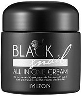 Улиточный крем Mizon Black Snail All In One Snail Repair Cream,75мл