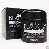 Улиточный крем Mizon Black Snail All In One Snail Repair Cream,75мл, фото 2