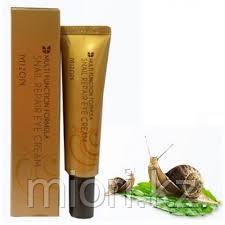 Крем для век Mizon Snail Repair Eye Cream,15мл