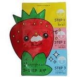 Пластыри для носа против черных точек TONY MOLY Homeless Strawberry Seeds 3-step Nose Pack, фото 2