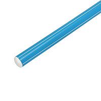 Палка гимнастическая 90см, цвет: голубой, фото 1