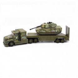 Soma 78558 Военный перевозчик + Танк 28 см