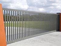 Промышленные откатные ворота, фото 1