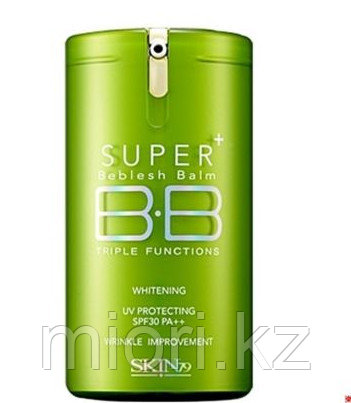 Тональный ВВ крем Skin 79 Super Plus Beblesh Balm Triple Functions(Green) SPF30 PA++