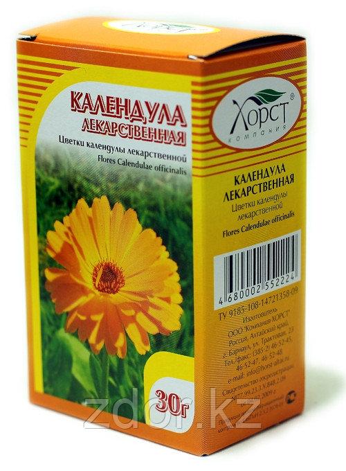 Календула, цветки 30 гр.
