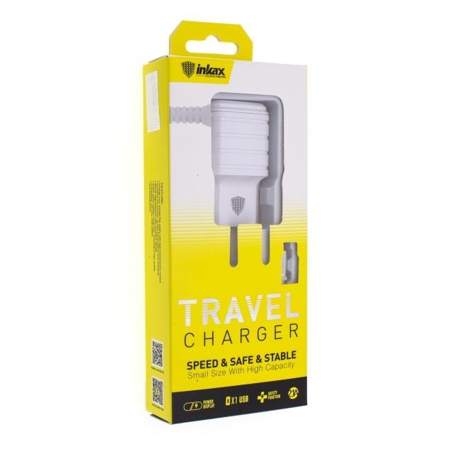 Зарядное устройство INKAX CD-09 Micro USB 2.1A
