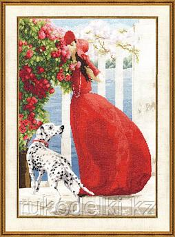 """Набор для вышивания крестом """"Аромат роз.Чудесное мгновение"""""""