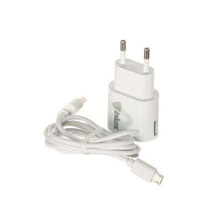 Зарядное устройство INKAX CD-08 Micro USB 1A, фото 2