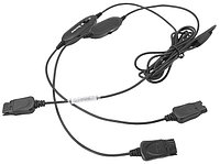 "Accutone Y-cord Training Cable - Шнур с регулировкой громкости и кнопкой ""Mute"" для тренингов в Call-центрах"