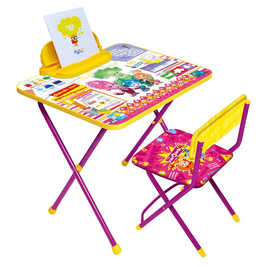 НИКА Набор мебели ФИКСИКИ ЗНАЙКА Ф13 (стол складн.+пенал,стул )