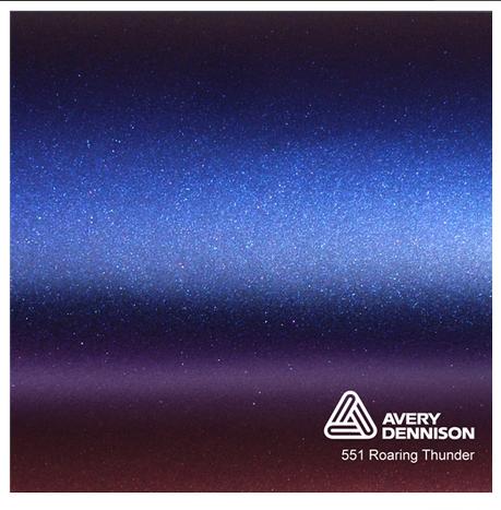 Автовинил Avery Dennison |  Roaring Thunder - ColorFlow™, фото 2