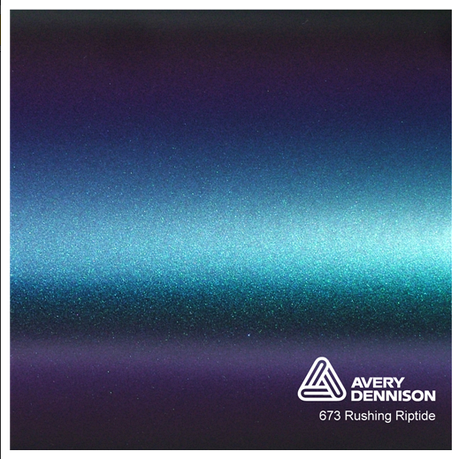 Автовинил Avery Dennison |  Rushing Riptide - ColorFlow™, фото 2