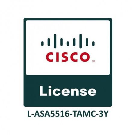 Cisco ASA5516 FirePOWER IPS, AMP and URL 3YR Subs