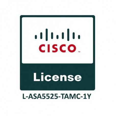 Cisco ASA5525 FirePOWER IPS, AMP and URL 1YR Subs