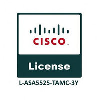 Cisco ASA5525 FirePOWER IPS, AMP and URL 3YR Subs