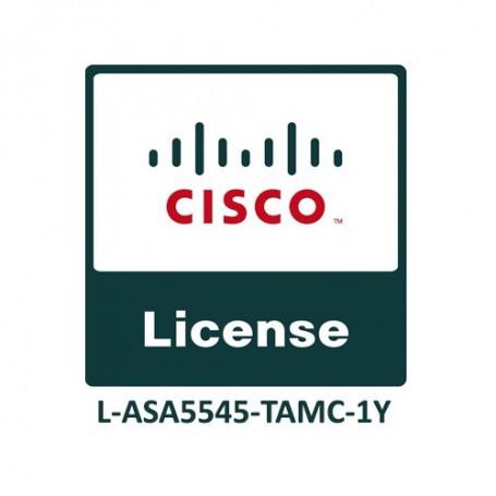 Cisco ASA5545 FirePOWER IPS, AMP and URL 1YR Subs