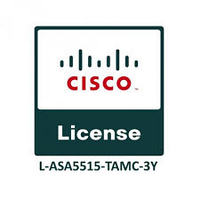 Cisco ASA5515 FirePOWER IPS, AMP and URL 3YR Subs