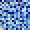 Мозаика стеклянная NO 1016