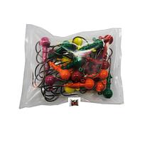 Грузило Джиг-головка шар. сапожок цветной 25шт 12гр