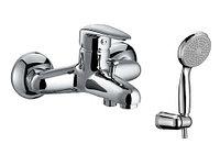 """Смеситель для ванны """"Прамэн"""" с коротким изливом с аксессуарами, хром (к/к 8) LM3302C"""