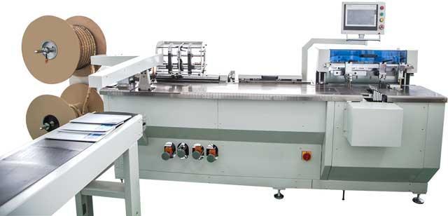 WireStar PB 580 - автомат для пробивки и навивки календарей