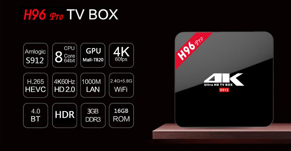 H96 Pro Plus. 3 Гб / 32 Гб. Мощная много-функциональная смарт ТВ приставка. Android 7.1. Все в одном.