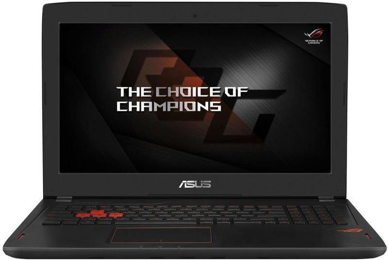 Notebook ASUS ROG GL502VM-FY198T/Intel Core i7-7700HQ/15,6 FHD/16GB/1TB+256GB SSD/NV GTX1060 6GB/noDVD/Win10/M
