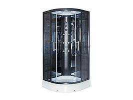 Душевая кабина Erlit ER5709P-C24 900*900*2150 низкий поддон, тонированое стекло