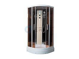 Душевая кабина Erlit ER5709P-C25 900*900*2150 низкий поддон, светлое стекло