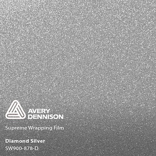 Автовинил Avery Dennison | DIAMOND Silver, фото 2