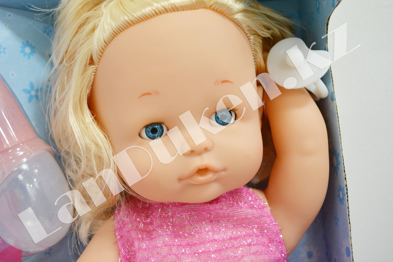 Детская кукла девочка New Baby Born с аксессуарами - фото 5