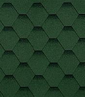 SHINGLAS. Серия «Финская». Форма нарезки: «Соната». Зеленый