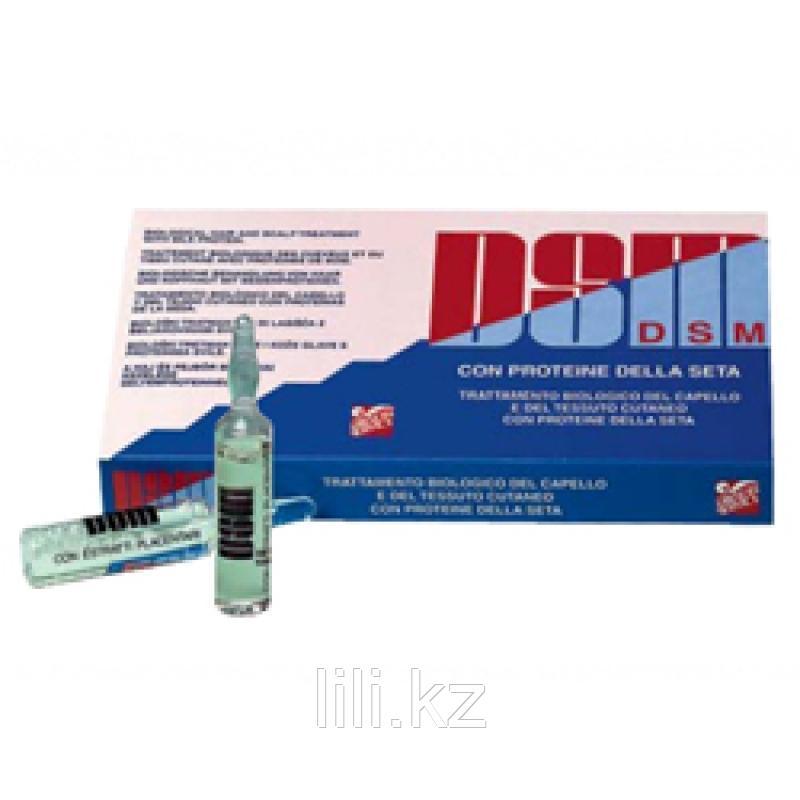 Ухаживающая и увлажняющая сыворотка с протеинами шёлка для чувствительной кожи головы Dikson DSM 10х10 мл.