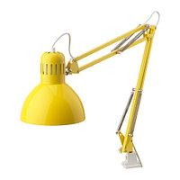 Лампа рабочая ТЕРЦИАЛ  желтый ИКЕА IKEA, фото 1