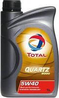 Моторное масло TOTAL QUARTZ 9000 5w40 1 литр