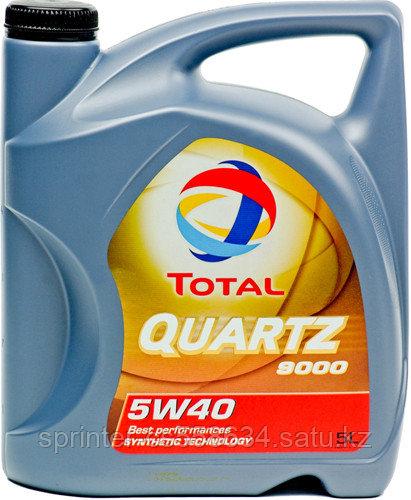 Моторное масло TOTAL QUARTZ 9000 5w40 5 литров
