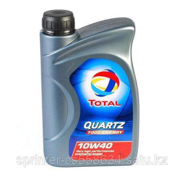 Моторное масло TOTAL QUARTZ 7000 10w40 1 литр