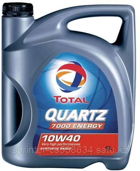 Моторное масло TOTAL QUARTZ 7000 10w40 4 литра