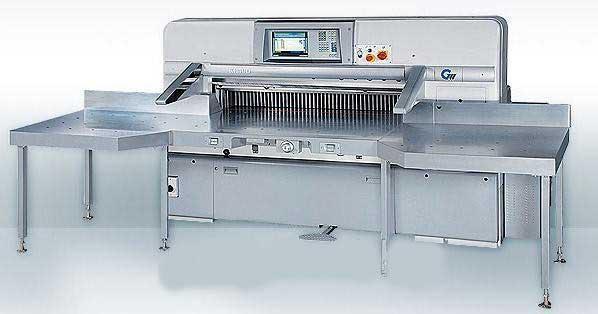 Бумагорезательная машина GUOWANG (Гуованг) MasterCUT 115CDe (1150 мм)